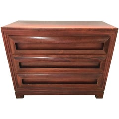 Paul Frankl Petite Mahogany Chest of Drawers for Johnson Furniture Co.