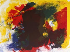 Five Invocations II, Lithograph by Paul Jenkins