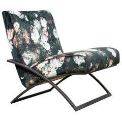 Peter Ghyczy Chair Urban Wave, GP03 Ristretto/Pellestrina Flowers