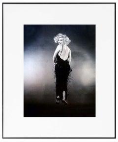 Phillipe Halsma Marilyn Monroe Jumping Photograph Black and White (1956/1981)