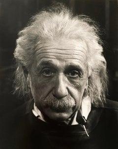 Professor Albert Einstein, Black and White Famous Portrait Photograph