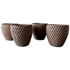 Phoenix-1 Stoneware Planters by David Cressey for Architectural Pottery, 1977