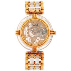 Piaget 18 Karat Yellow Gold Skeleton Watch