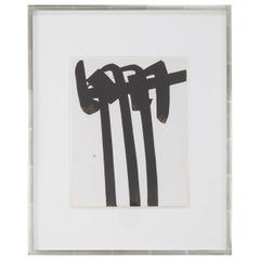Piere Soulages, Lithograph Titled Litho #34
