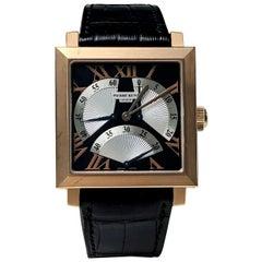 Pierre Kunz Spirit of Challenge Pink Gold Triple Retrograde Wristwatch