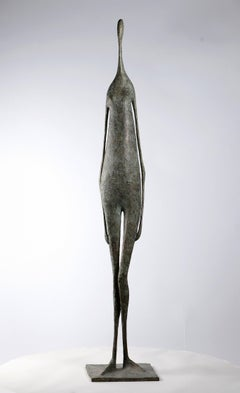 Great Standing Figure II - Contemporary Bronze Sculpture