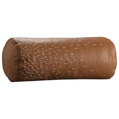 Pita Cylinder Cushion, Leather
