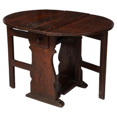Plank End Gateleg Table For Sale