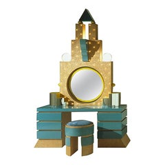 Plaza Dressing Table, by Michael Graves from Memphis Milano