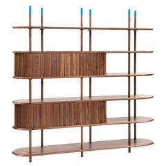 Pontile, Bookcase by Accardi e Buccheri