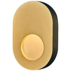 Portal Sconce Oblong in Brass