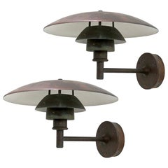 Poul Henningsen PH 4½/3 Wall Lights