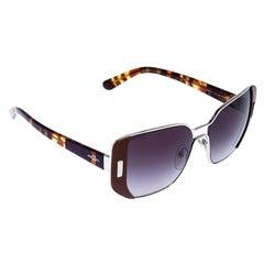 Prada Brown/Black Gradient SPR 59S Square Sunglasses