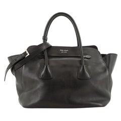 Prada  Cuir Convertible Shopping Tote Soft Calfskin Large