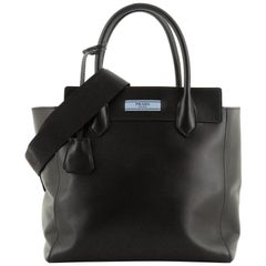 Prada Etiquette Convertible Tote City Calf Large