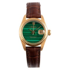 Pre-Owned Rolex Lady Datejust Ref. #6917 with Malachite Dial