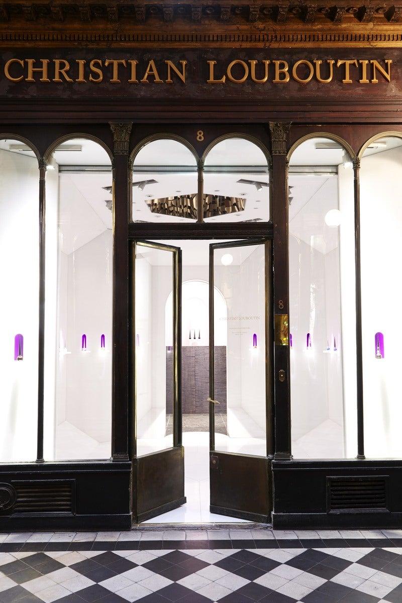 Boutique Christian Louboutin Beauty By Pierre Yovanovitch Architecture Dinterieur