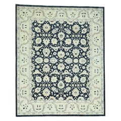 Pure Wool Peshawar Design Hand Knotted Oriental Rug