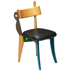 """""""Quasimodo"""" Chair by Weil and Taylor for Anthologie Quartett"""