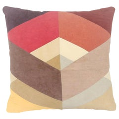 Quilted American Heritage Handmade Autumnal Throw Pillow