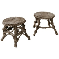 Quirky Pair of Stools