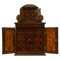Rare 17th Century Baroque Cabinet, South Germany Probably Augsburg, Wunderkammer