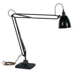 Rare 1930s Anglepoise Draughtsman's Task Desk Lamp No 1208 Herbert Terry & Sons