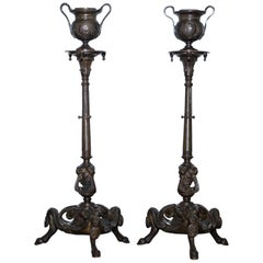 Candleholders and Candelabra