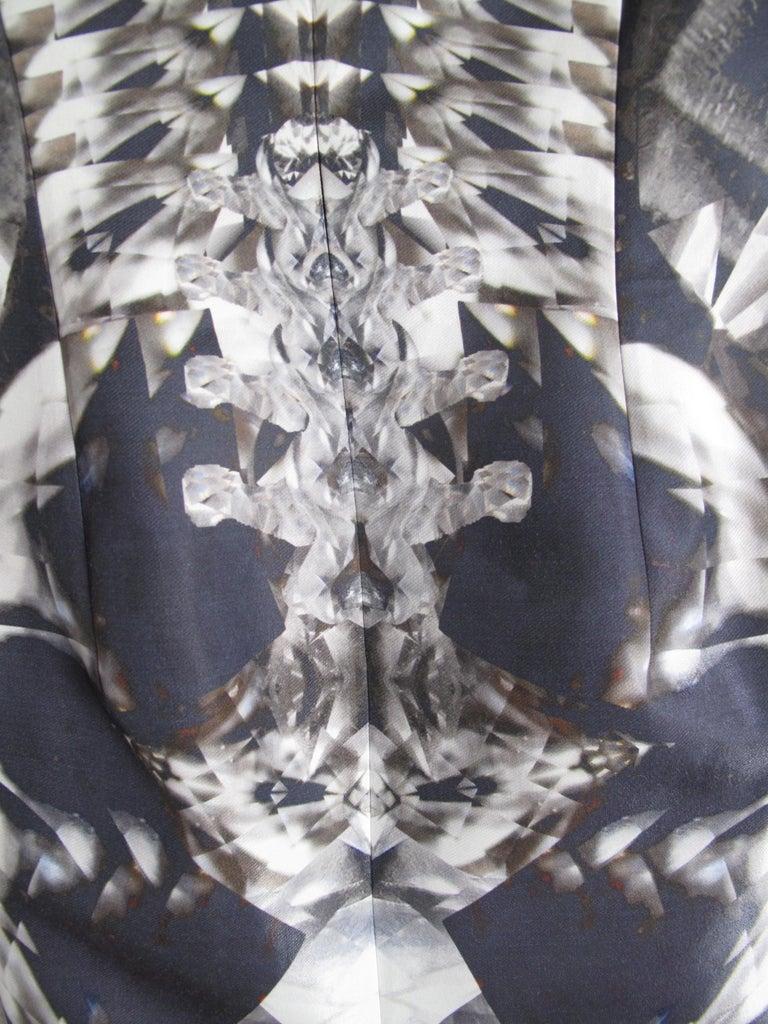 Women's Rare 2009 Alexander McQueen Crystal Skeleton Dress  For Sale