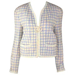 Rare Documented Chanel Lesage Tweed Jacket Blazer 1994 Collection
