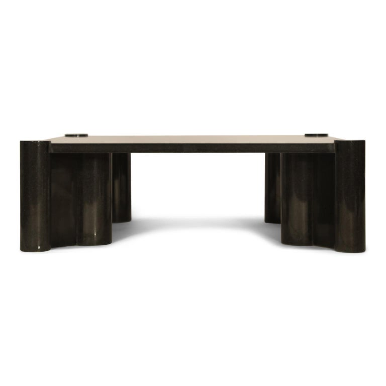 Modern Rare Granite 'Jumbo' Cocktail Table by Gae Aulenti for Knoll International, 1980 For Sale