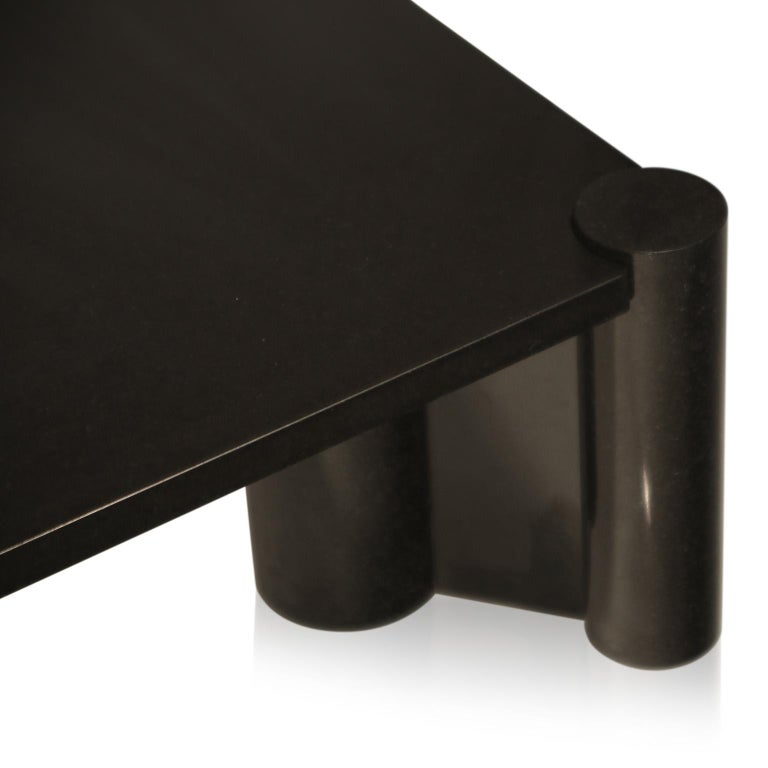 Rare Granite 'Jumbo' Cocktail Table by Gae Aulenti for Knoll International, 1980 For Sale 2