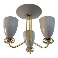 Rare Paavo Tynell for Lightolier Ceiling Light