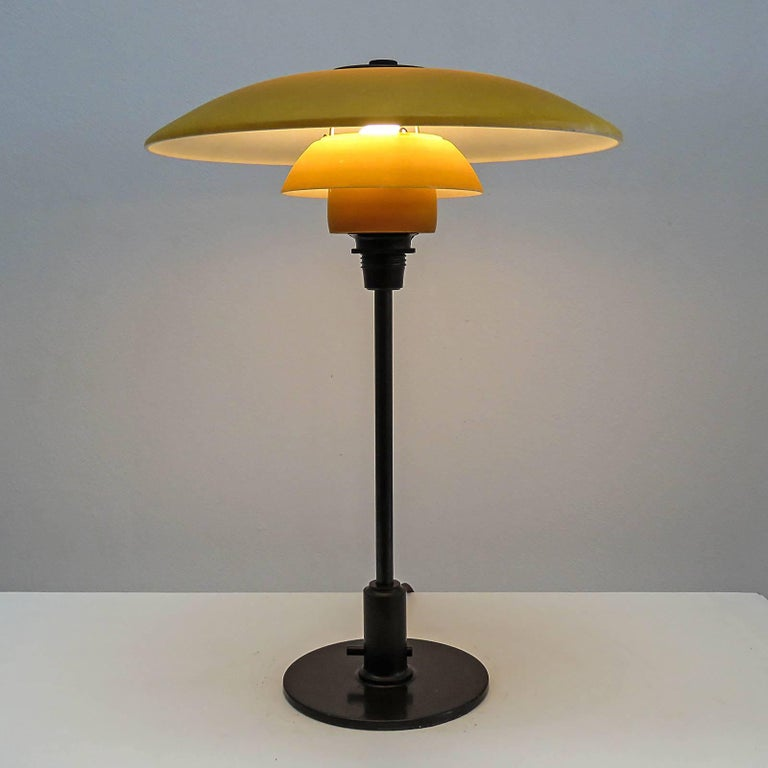 Rare Poul Henningsen PH 3½-2 Table Lamp, 1930 For Sale 3