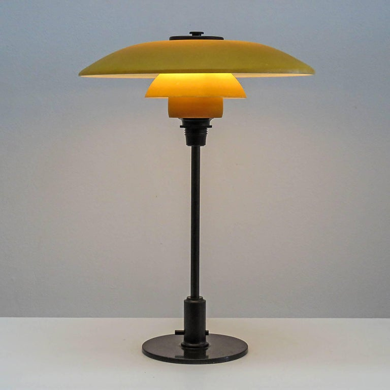Rare Poul Henningsen PH 3½-2 Table Lamp, 1930 For Sale 1