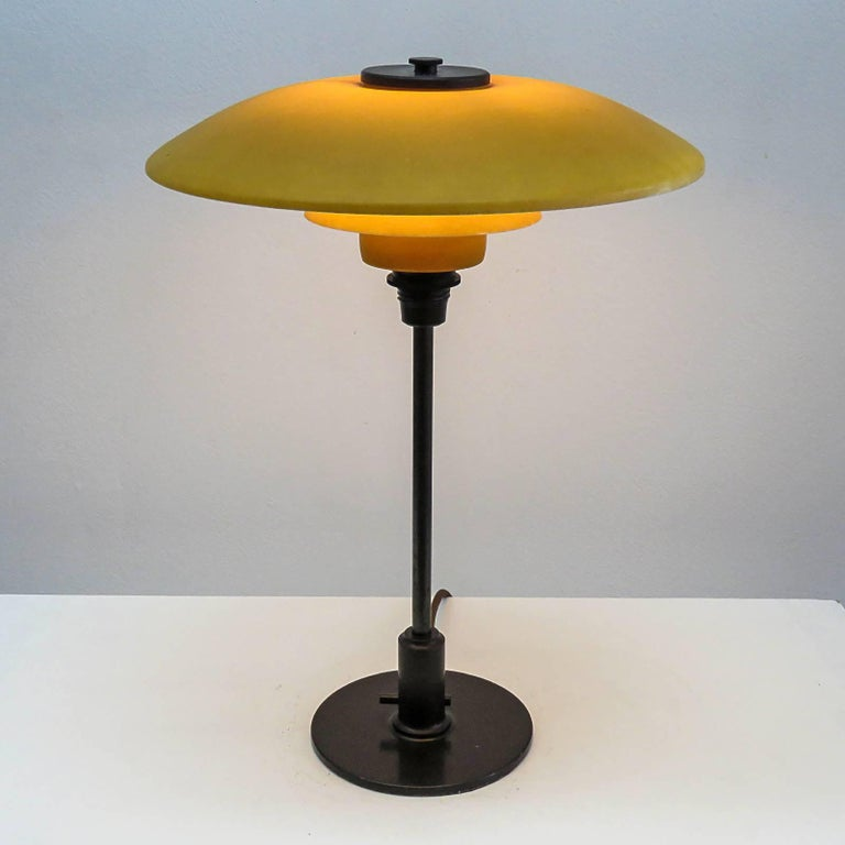 Rare Poul Henningsen PH 3½-2 Table Lamp, 1930 For Sale 2