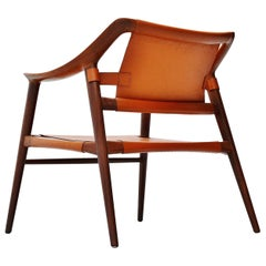 Rastad and Relling Bambi Lounge Chair Gustav Bahus, Norway, 1950