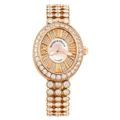 Regent Duchess 2833 Luxury Diamond Watch for Women, Rose Gold
