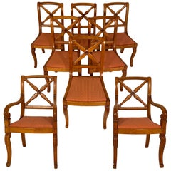Restoration Dining Chairs with Armchairs