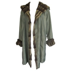 Reversible Easy Coat with Fur and Hood