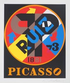 Picasso - Original screenprint, Handsigned - Certificate