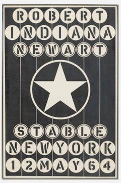 Robert Indiana 'New Art Poster'