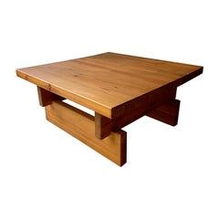 Roland Wilhelmsson Swedish Pine Coffee Table, circa 1960-1970