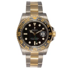 Rolex 18 Karat Gold and Stainless Steel Ceramic GMT Master II 116710