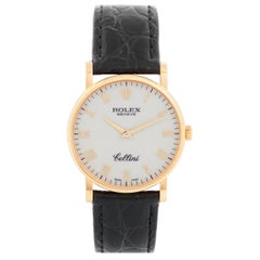 Rolex Cellini Classic 18 Karat Yellow Gold Men's Watch 5115