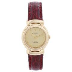 Rolex Cellini Ladies 18 Karat Yellow Gold Watch 13767
