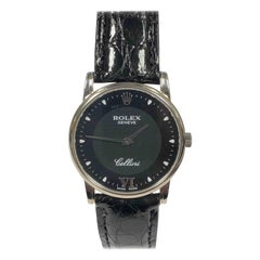 Rolex Cellini Ref 5116 White Gold Quartz Wristwatch