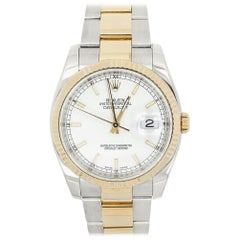 Rolex Datejust 116233, White Dial, Certified and Warranty