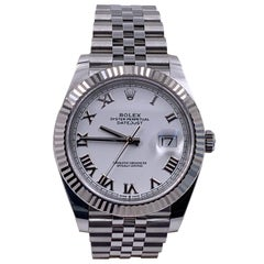 Rolex Datejust 126334 White Dial Stainless and 18 Karat Gold Box 2020