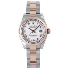 Rolex Datejust 179161, White Dial, Certified and Warranty
